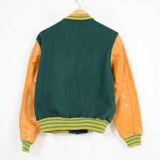 marv holland sleeve leather wool award jacket award jacket men s vintage wam5411