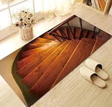 Eine treppe mit vinylboden zu verkleiden: Pvc Boden Anti Rutsch Boden Treppe Aufkleber Aufkleber 3d Wandaufkleber Entfernt Werden Kann 120x60cm Amazon De Baumarkt