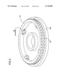 Motor large size patent us5770909 wound rotor synchronous motor generator and drawing