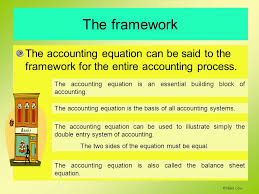 2 the framework the accounting equation can