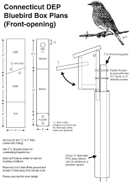 eastern bluebird house plans.  Eastern Frontopening Nest Box Plans In Eastern Bluebird House U