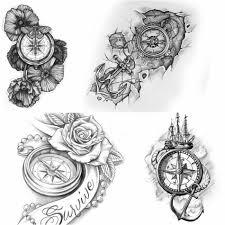 тату компас эскизы тату компас татуировка на руке эскиз тату