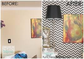diy faux wallpaper using starch fabric