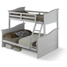 kids furniture modern. WAVE Double Bed With Single Bunk - Kids Furniture Modern N