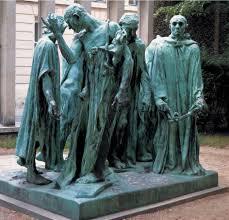 The Burghers of Calais - Rodin Museum | Rodin sculpture, Auguste rodin,  Public sculpture