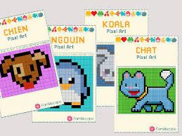 Pixel art à imprimer dessin pixel facile coloriage pixel art perles à tisser schémas de bijoux en perles motifs de couture broderie la pixel art facile da fare si propone ai bambini piccoli, come attività ludica e didattica. Animaux Mignons Et Faciles En Pixel Art
