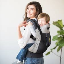 carrier for toddler. carryon airflow toddler carrier - charcoal/silver for r
