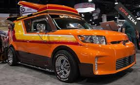 scion xb custom interior. scion wins sema with this megasweet xb custom u002770s van including fishbowl window and cb xb interior