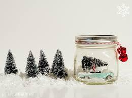 Decorated Christmas Jars Ideas In Jar Snow Globe 97