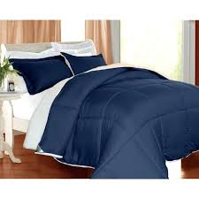 pacific coast comforter blue with side table and wooden floor for bedroom decoration o13