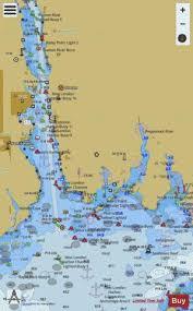 Thames River Ct Depth Chart New London Harbor And Vicinity Marine Chart Us13213_p2143