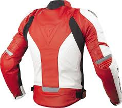 dainese racing leather jacket clothing jackets motorcycle white red dainese underwear norsorex e1 pant