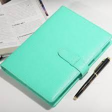 A5 Pu Leather Spiral Notebook Agenda Planner Organizer