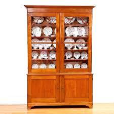 cherry wood curio cabinet corner kitchen curio cabinet elegant french x bookcase in cherry wood w original glass door