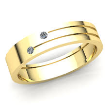 Ring Designs With Multiple Stones Details About 0 15ct Round Diamond Mens Fancy Two Stone Engagement Ring 18k Gold