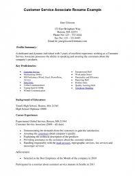 Sample Resume Customer Service Skills List On Resume Writing