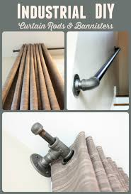 diy pallet iron pipe. Tutorial On Creating Iron Pipe Curtain Rods And Bannisters Diy Pallet P