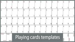 Printable Playing Card King Playing Card Template Blank Word Companiesuk Co
