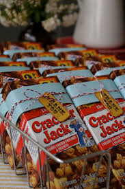 cracker jack favor - can do with animal crackers, too