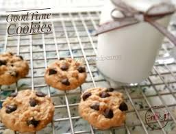 Apa yang anda bayangkan setelah mendengar kue cookies coklat ? Goodtime Cookies My Cooking Story Good Food For Our Good Life