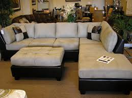 Sectionals Living Room Furniture Stylish Cool Black Living Room Leatherette Chaise Sectional Sofas