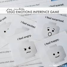 Free Printable Lego Emotions Inference Game And Next Comes L