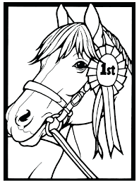 Coloring Page Horse Barrel Racing Coloring Pages Page Horse This Is