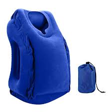 Backpack Pillow Others Trendsblue Inflatable Travel Pillow Portable