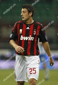 Daniele Bonera Ac Milan Italy Milan Editorial Stock Photo - Stock Image