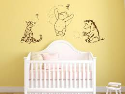 winnie the pooh wall art the pooh wall art decals for nursery classic winnie the pooh winnie the pooh wall art