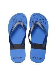 Buy Being <b>Human Men</b> Navy Printed Flip <b>Flops</b> - Flip <b>Flops</b> for <b>Men</b> ...
