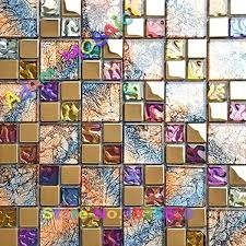 mosaic tile art multi glass colored tiles luxury bathroom wall mirror rustic iridescent kitchen tiles mosaic tile art diy mosaic tile wall art