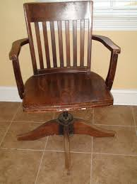 vintage wooden office chair. wooden swivel office chair dazzling decor on vintage wood 137