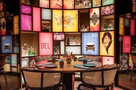 Indian Restaurant Design Restaurant Designs Indya By Vineet Dubai Love That Design