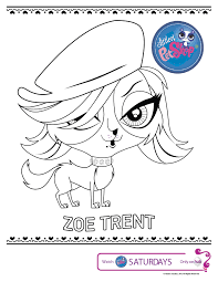 Cute Littlest Pet Shop Coloring Pages The 12 Betweenpietyanddesirecom