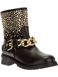 Studded Boots Designer Giuseppe Zanotti Design Studded Boot Shoes Studded Boots