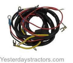 ford 8n, 9n, 2n tractor wiring harness yesterday's tractors