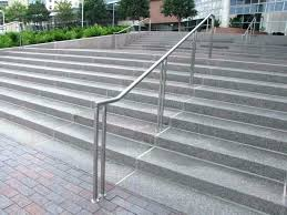 credible handrails for outside steps uk outdoor