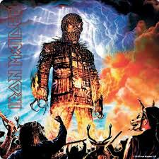 Podtácek Iron Maiden Wicker Man