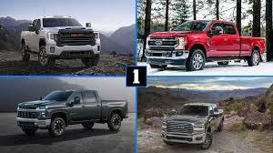 Heavy Duty Pickup Truck Comparison: Super Duty vs Ram vs Silverado ...