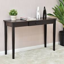 side table for hallway. Giantex Console Table Entry Hallway Desk Entryway Side Sofa Accent With Drawer Modern Wood Living Room Furniture HW56071-in Tables From For E