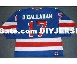 K1 Hockey Jersey Size Chart Mens Womens Kids Jack Ocallahan 1980 Usa K1 Olympic M N Away Hockey Personalized Jerseys Custom Any Name No