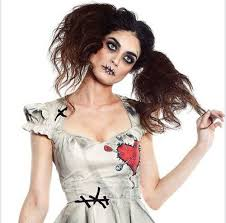 scary doll makeup voodoo doll makeup is one of the impressive look for