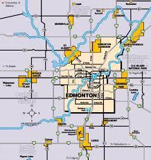maps Maps Edmonton city of edmonton and area map maps edmonton alberta canada