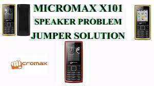 Micromax X101 Speaker Problems Jumper ...