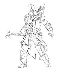 Assassins Creed 6 Video Games Printable Coloring Pages