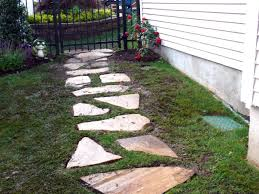 Small Picture Building a Stone Walkway how tos DIY