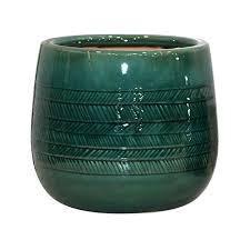 6in indoor ceramic herringbone