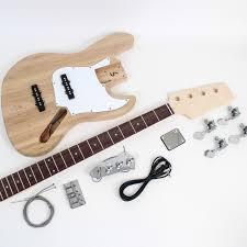 ibanez iceman style bass guitar kit
