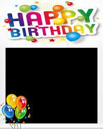 free happy birthday poto frame 1 0 screenshot 1